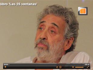 video: Jorge Eines presenta en Madrid el libro 'Las 25 ventanas'